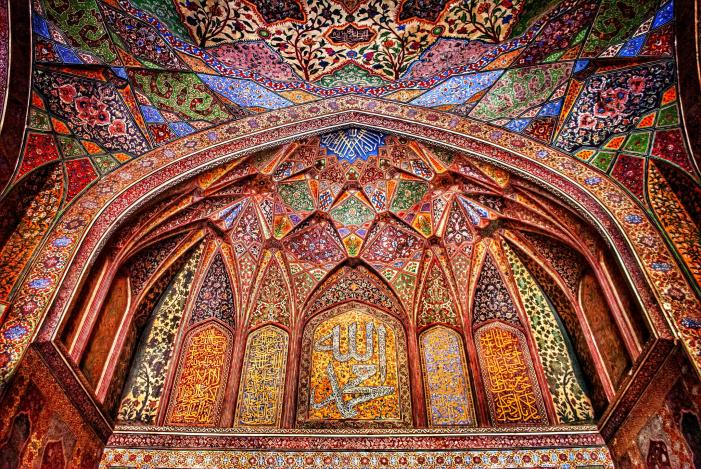 Wazir Khan Mosque, 17th century, Lahore, Pakistan